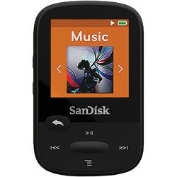 SanDisk 4GB Clip Sport MP3 Player (Black) SDMX24-004G-A46K B&H