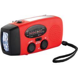 Barska Hand Crank Radio with Flashlight and Charger BK12224 B&H