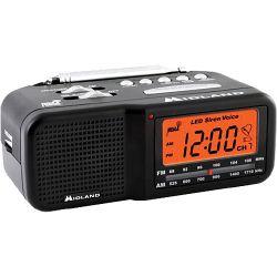 Midland WR11 Alarm Clock Weather Alert Radio WR11 B&H Photo