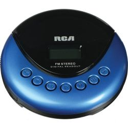 RCA  Personal CD Player with FM Radio RP3013 B&H Photo Video