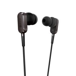 KEF  M100 Hi-Fi Earphones (Grey) M100GREY B&H Photo Video