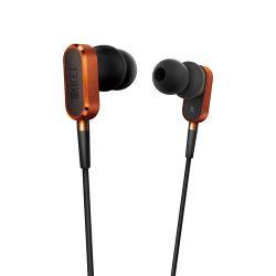 KEF  M100 Hi-Fi Earphones (Orange) M100SO B&H Photo Video