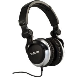 Tascam TH-2000 Professional Headphones (Silver) TH-2000-S B&H