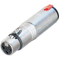 "Neutrik NA3FJ 3-Pole XLR Female to 1/4"" Locking TRS NA3FJ"
