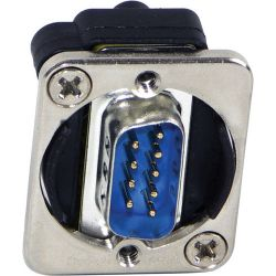 Switchcraft EH Series 9-Pin D-Sub Male to Male (Nickel) EHDB9MM