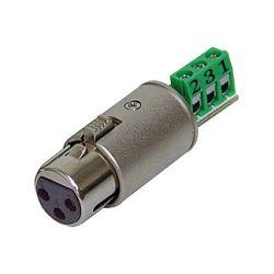 Rolls XLF112 3-Pin XLR Female Termination Plug for Bare XLF112