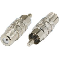 Tera Grand RCA Male to F-Type Female Adapter ADP-RCAM-FF B&H
