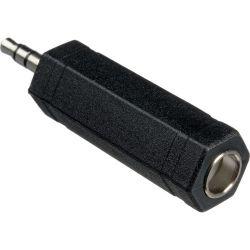"Hosa Technology 1/4"" TS Female to 3.5mm TRS Male GMP-386"