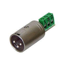 Rolls XLM113 3-Pin XLR Male Termination Plug for Bare XLM113 B&H