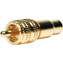 Comprehensive Premium True 75 Ohm RCA Plug, Crimp type RCA-75C