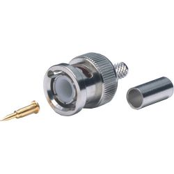 Comprehensive Premium 2 Piece True 75 ohm BNC Plug BJ-2C7559 B&H