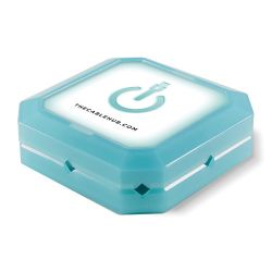 CableHub  Square CableHub (Blue Glow) CHSQ-201 B&H Photo Video
