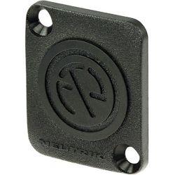 Neutrik  DBA-BL Blank Plate (Black) DBA-BL B&H Photo Video