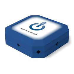 CableHub  Square CableHub (Blue) CHSQ-006 B&H Photo Video