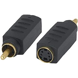 Tera Grand S-Video Female to RCA Male Adapter ADP-SVIDF-RCAM B&H