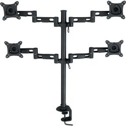 "Bentley Vertical Quad Monitor Stand (13-24"") D800 B&H Photo"