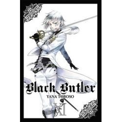 Black Butler, Book 11 by Yana Toboso, 9780316225335.