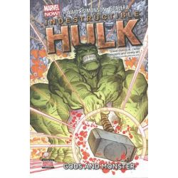 Indestructible Hulk, Gods And Monster (marvel Now) Volume 2 by Mark Waid, 9780785168324.