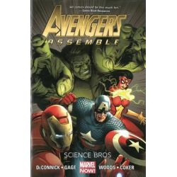 Avengers Assemble, Science Bros (Marvel Now) by Kelly Sue DeConnick, 9780785167976.