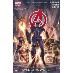 Marvel Now! : Avengers, Avengers World : Volume 1 by Jonathan Hickman, 9780785166528.