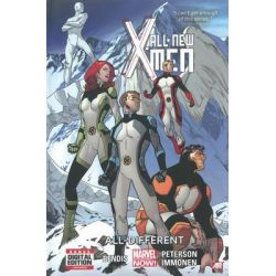 All-New X-Men : All-Different , Volume 4 by Brian Michael, 9780785188605.