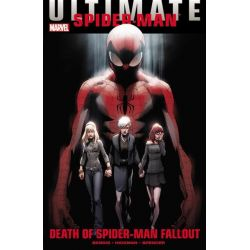 Death of Spider-Man Fallout, Ultimate Comics Spider-man by Brian Michael Bendis, 9780785159131.