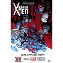 All-New X-Men : Out of Their Depth (Marvel Now) , Volume 3 by Brian Michael Bendis, 9780785168225.