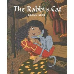 The Rabbi's Cat, Rabbis Cat by Joann Sfar, 9780375422812.