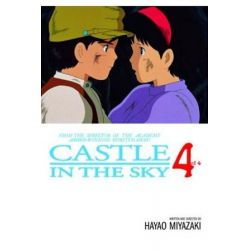 Castle In The Sky, Volume 4, Castle in the Sky by Hayao Miyazaki, 9781591161738.