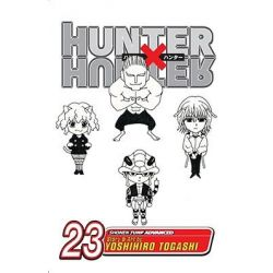 Hunter X Hunter, Volume 23, Hunter X Hunter by Yoshihiro Togashi, 9781421517902.