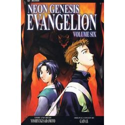 Neon Genesis Evangelion, Volume 6, Neon Genesis Evangelion (Paperback) by Yoshiyuki Sadamoto, 9781591164043.