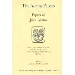 Papers of John Adams, Sept 1778-Feb.1779 v. 7-8 by John Adams, 9780674654440.