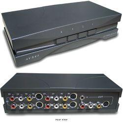 RF-Link AVS-41 4x1 A/V Switcher with S-Video AVS-41 B&H Photo