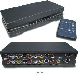 RF-Link AVS-41i 4x1 A/V Switcher with S-Video and Remote AVS-41I