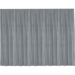 Da-Lite 36799 Drapery Panel (4 x 13', Pewter Gray) 36799 B&H