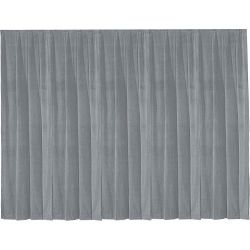 Da-Lite 36801 Drapery Panel (16 x 13', Pewter Gray) 36801 B&H