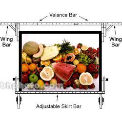 "Da-Lite Adjustable Skirt Bar for 54 x 54"" Fast-fold 89243"