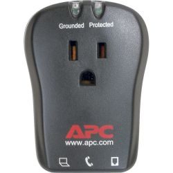 APC Essential SurgeArrest 1-Outlet Surge Protector with RJ-11