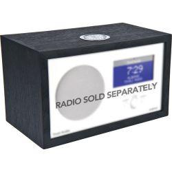 Tivoli Wood Cabinet for Albergo Clock Radio (Black Ash) AKITBK