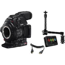 Canon EOS C100 Mark II Cinema EOS Camera and Atomos 0202C013 B&H