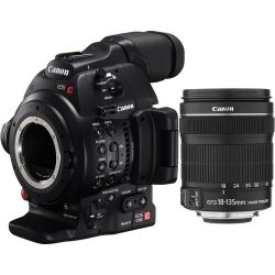 Canon EOS C100 Mark II Cinema EOS Camera with EF-S 0297C002 B&H
