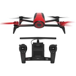 Parrot BeBop Drone 2 with Skycontroller (Red) PF726100 B&H Photo