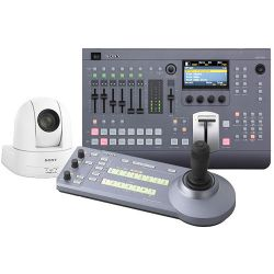 Sony MCS8M Bundle with Switcher, Controller, and MCS8MBNDLSEW