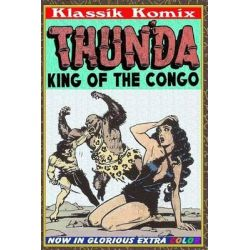 Klassik Komix, Thun'da, King of the Congo by Mini Komix, 9781505525656.