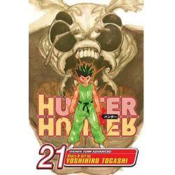 Hunter X Hunter, Volume 21, Hunter X Hunter by Yoshihiro Togashi, 9781421517889.