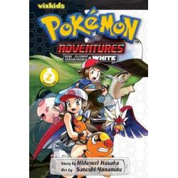 Pokemon Adventures Black & White, 2 by Hidenori Kusaka, 9781421558998.
