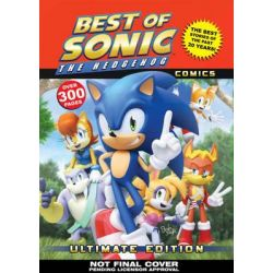 The Best of Sonic the Hedgehog Comics, Ultimate Edition by Sonic Scribes, 9781619889736.