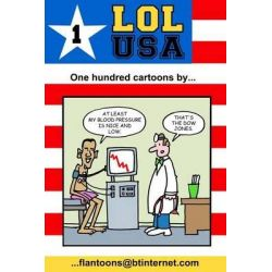 Lol USA, 100 Great and Funny Cartoons. by Mike Flanagan, 9781495916472.