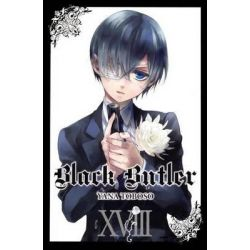 Black Butler Volume 18, Black Butler by Yana Toboso, 9780606357517.
