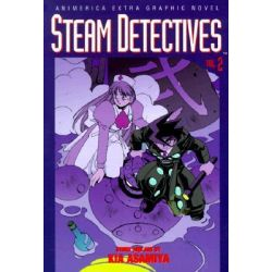Steam Detectives, Vol. 2, Steam Detectives by Kia Asamiya, 9781569314050.